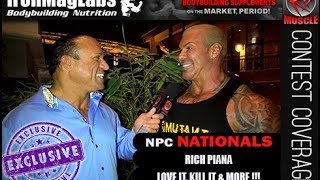 Rich Piana Explains Love It, Kill it & 5 % At The 2013 NPC Nationals!