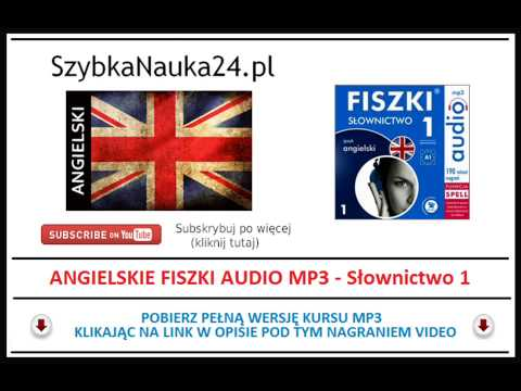 ANGIELSKI FISZKI MP3 - Nauka Słówek Dla Początkujących (Angielskie Fiszki Audio)