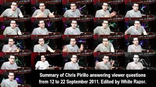 Video de 21 Chris Pirillos respondiendo preguntas al mismo tiempo