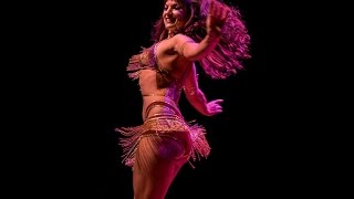 Alia Belly Dancing at Houston Burlesque Festival - Shik Shak Shok