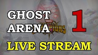 Ghost Arena - Part 1 | Marvel Contest of Champions Live Stream
