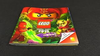 LEGO 3D Animation Catalogue 2015 A Look Through