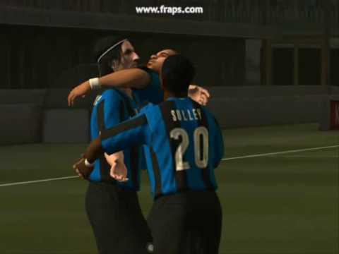 Pes 2009 – Inter Vs Napoli – Eurogol di Ibra e Adriano