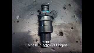 Chinese injectors vs original
