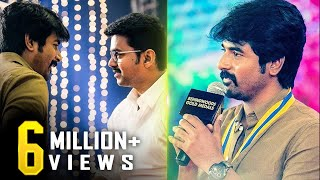 """I never got an opportunity to tell this to Vijay Sir"" - Sivakarthikeyan Opens Up"