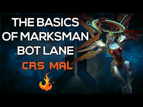 [Infinite Crisis] How to play Marksman Bot Lane with Crs Mal