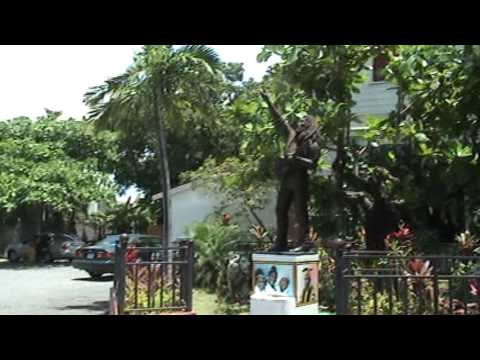 At The Bob Marley Museum, Kingston, Jamaica May 2008
