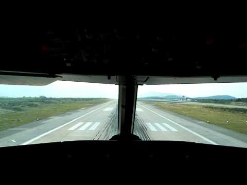 Landing at Dubrovnik Airport :) (HD Quality)