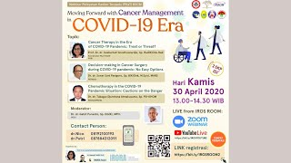 Webinar PKaT RSCM: Moving Forward with Cancer Management in COVID-19 Era