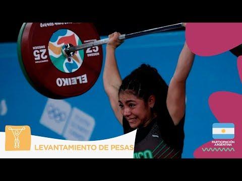 #BuenosAires2018   #LevantamientoDePesas: Yesica Hernández le trajo el primer Oro a México