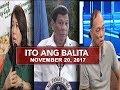 UNTV: Ito Ang Balita (November 20, 2017) MP3
