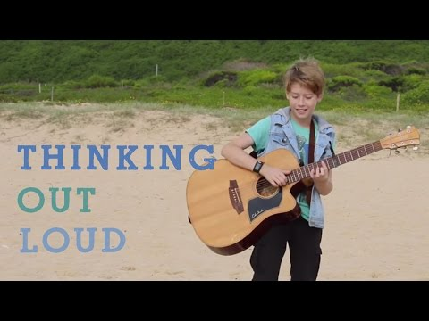 Thinking Out Loud - Cover by Ky Baldwin (Ed Sheeran)