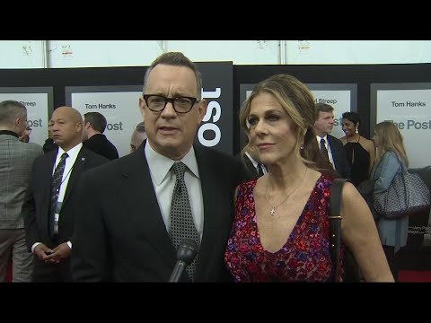 Hanks celebrates the free press