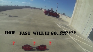 RIPSTIK down a 5 story garage.! how fast will it go.?