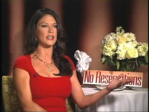 Catherine Zeta Jones On 'No Reservations'