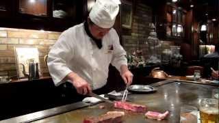 (6.35 MB) Real Kobe beef teppanyaki Steak Land restaurant Kobe, Hyogo, Japan Mp3