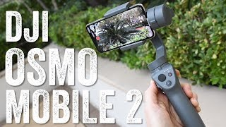 DJI OSMO MOBILE 2: Hands-on Details!