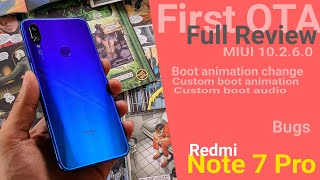 Redmi Note 7 Pro MIUI 10.2.6.0 Update full Review | Changelog Features Bugs