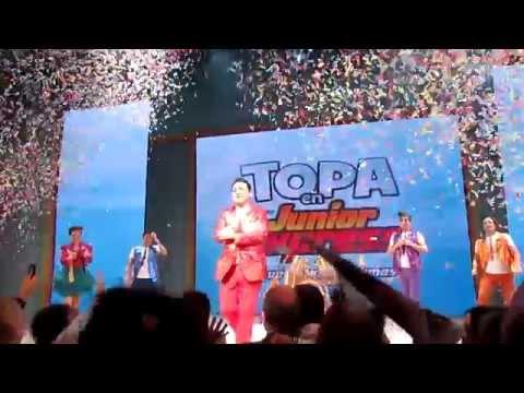 Teatro 2014 Topa Junior Express Disney - Primer Recital de Benicio y Michelle