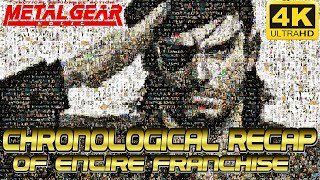 METAL GEAR SOLID | COMPLETE RECAP OF ENTIRE FRANCHISE! ??