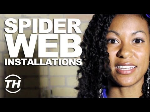 Spider Web Installations - Trend Hunter Nikki Taylor Talks Interactive Art