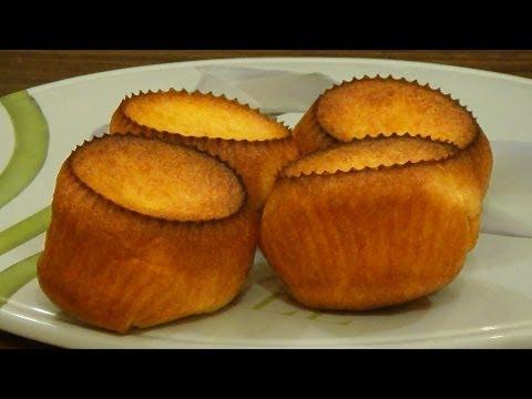 Popovers - выпрыгивающие булочки. Альтернатива заварным пирожным.