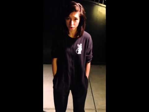 CHRISTINA GRIMMIE ICE BUCKET CHALLENGE