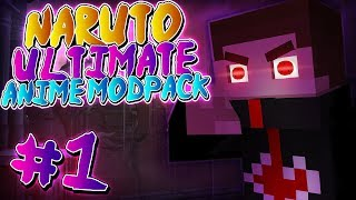 TAILED BEAST CLOAK ACHIEVED!!! Minecraft: Naruto Ultimate Anime Modpack - Episode 1
