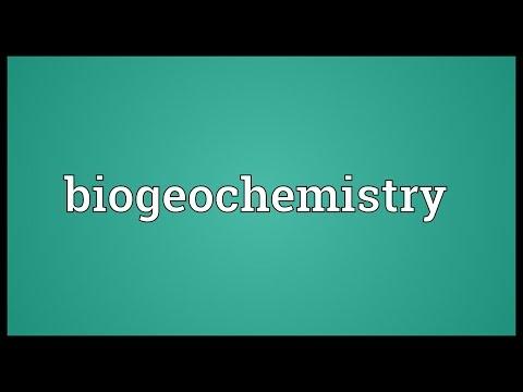 Header of biogeochemistry