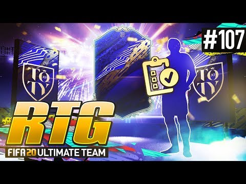 PROJECT TOTY! - #FIFA20 Road to Glory! #107 Ultimate Team