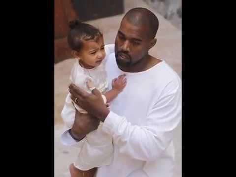 Kim Kardashian, Kanye West and North West arrived in Jerusalem on Monday for North's baptism