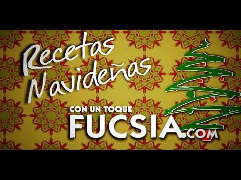 "Recetas navideñas con un toque fucsia ""Montaditos de Pavo"""