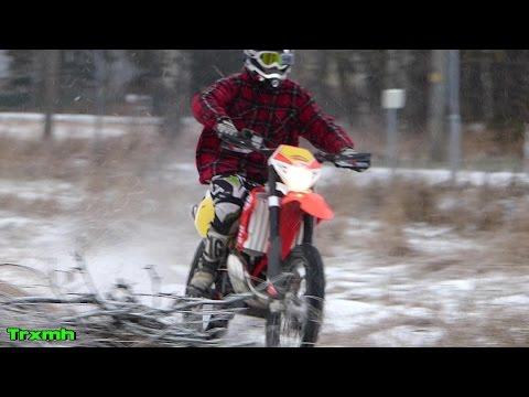 Beta RR300 2-Stroke Winter Warm Up Ride