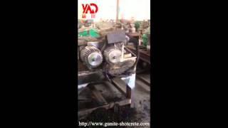 New developed Rubber tyre circle cutter and Slice Cutter& steel seperator unite machine