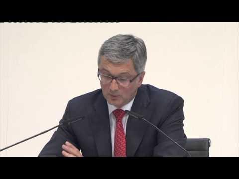 Audi Jahrespressekonferenz 2013 - Rede von Rupert Stadler (Teil 1)