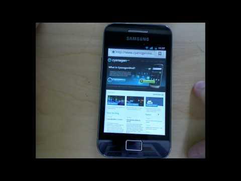 Instalar CyanogenMod 7.2 (Android 2.3.7) En Samsung Galaxy Mini