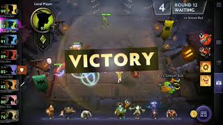 Dota Underlords Mobile Gameplay