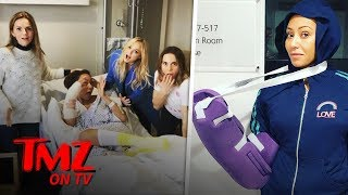 Mel B Hospitalized After Severing Her Hand | TMZ TV