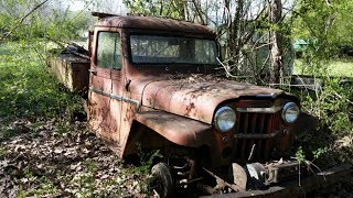 Willys Truck Take One: Will it Ever Run Again?