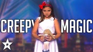 Kid Magician TERRIFIES Everyone On Spain's Got Talent!   Got Talent Global