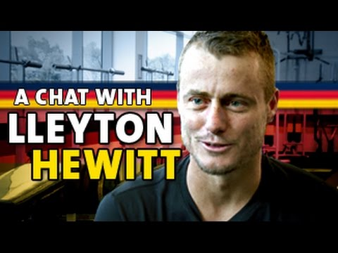 A chat with Lleyton Hewitt