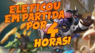 A partida mais longa de league of legends! 4 horas preso na ranqueada!