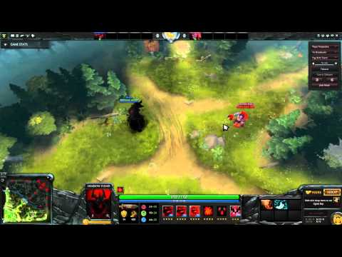 Dota 2: Advanced Tips and Tricks #1, Pudge and Shadow Fiend
