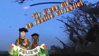 Exclusif: première vidéo de chasse en réalité virtuelle: tir d'une oie en Ecosse!