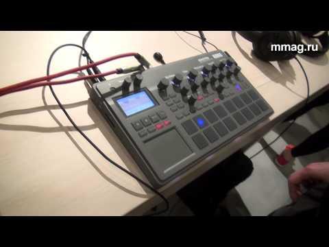 mmag.ru: Musikmesse 2015 - Korg Electribe - грувбокс