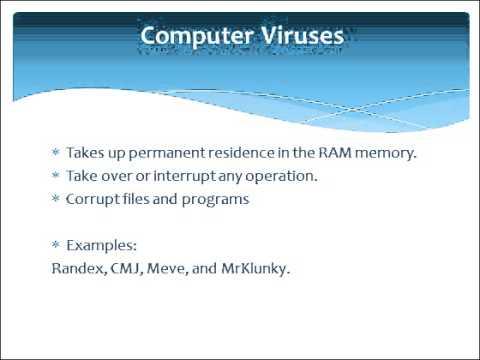 PresentationTube: Computer malwares 1
