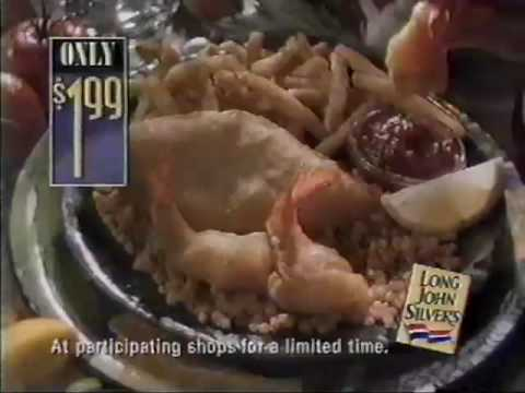 Long John Silvers Commercial (1996) Video