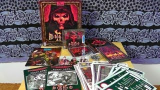 Unboxing Diablo II - Collector's Edition