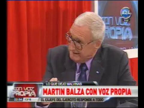 Martin Balza en Vos Propia - a 30 años de Malvinas