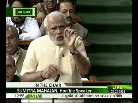 Narendra Modi speech: PM slams Rahul Gandhi, hits out at Make in India jibe
